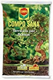 Compo Bonsai-Erde mit Sand und Ton, 5 Liter.
