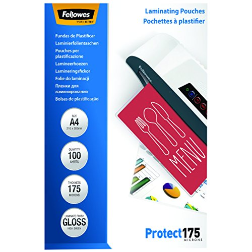 fellowes-53087-laminierfolien-protect-175-mikron-din-a4-100er-pack