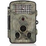 """Crenova® Fotocamera caccia 12MP 1080P HD Ampio angolo di visione 120°fauna selvatica Fotocamera con Infrarossi Visione notturna Impermeabilità Fotocamera gioco Schermo LCD 2.4"""" 42 LED IR a basso bagliore Telecamera digitale"""
