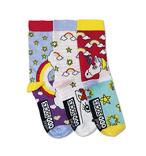 United Oddsocks - Unicorn/Unicornio - Niña - Talla
