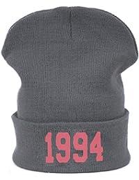 Hombres de las mujeres de gran tamaño Baggy Beanie sombrero sombreros 1994Cálido gorro de invierno