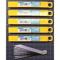 50 xOlfa cuchillas de repuesto 120-SAB10 30 nivel cúter de la hoja de cuchillo 30° cuchillas de repuesto