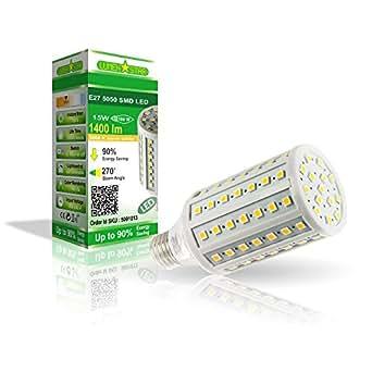 LumenStar® LED E27 Lampe 15 Watt - 1400lm, 3000K warmweiß, 180° Abstrahlwinkel, ersetzt 100W - Pisa