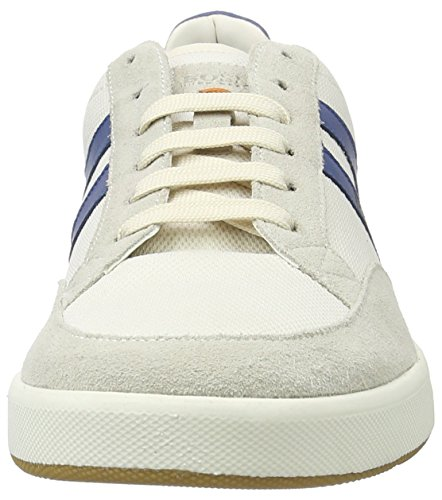 BOSS Orange Herren Stillnes_Tenn_MX 10195423 01 Low-Top Weiß (White 100)