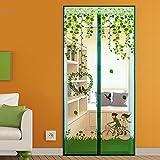 jia-jv-god Sommer - moskitonetz Fliegengitter für Fenster, Schlafzimmer einfache verschlüsselung Klett die Tür - Netz-C-140x220cm(55x87inch)
