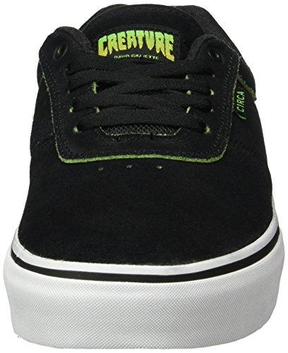 C1RCA Gravette, Baskets Basses Mixte Adulte Noir - Schwarz (Black Creature)