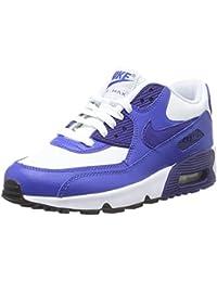pretty nice 11ee1 875ec Nike Air Max 90 Leather (Gs) Shoe, Unisex Kids  Low-Top