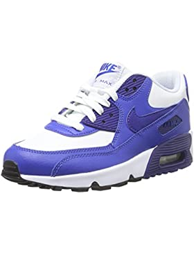 Nike Unisex-Kinder Air Max 90 Leather (Gs) Shoe Low-Top