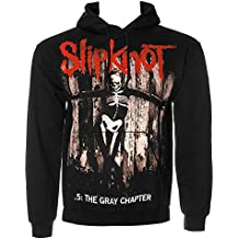 Slipknot Gray Chapter Felpa Con Cappuccio (Nero) - Americano Hard Rock