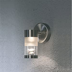 Bolzano Stainless Steel Outdoor Wall Light