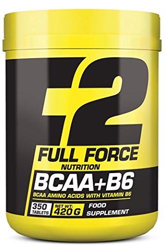 AMINO Aminoacidi Full Force Nutrition BCAA + B6 Tablets L-valine