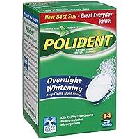 Polident Overnight Whitening Triple Mint Freshness Antibacterial