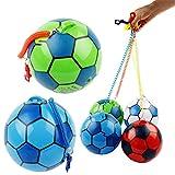Vivianu nuovo pallone da calcio gonfiabile con stringa sport Kids Toy Ball giocoleria Outdoor