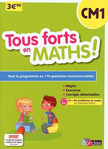 Tous forts en Maths CM1 par Collectif