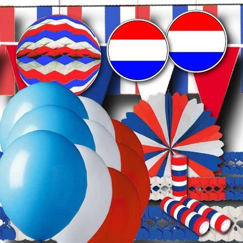 Preisvergleich Produktbild Niederlande Partydeko Grundausstattung