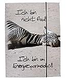 Sü-Verlag Verlag 97742–Chemise à élastique Zèbre Mode économie d'énergie