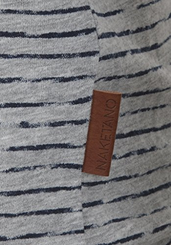Naketano Female Sweatshirt Zeich ma Titten V Grey Melange