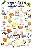1art1 119302 Käse - Französische Käsesorten XXL Poster
