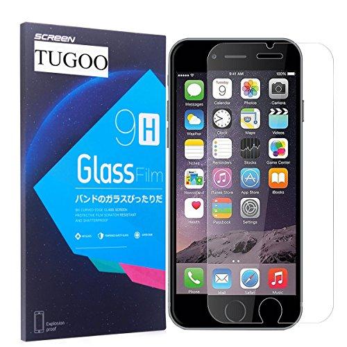 Pellicola Protettiva iPhone 7 TUGOO iPhone 7 Pellicola Vetro Temperato, 3D Toccare Compatibile, 9H Durezza ultra resistente Vetro Temperato Screen Protector per iPhone 7 Vetro Temperato iPhone 6S / 6