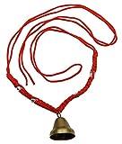 Rot Nylon Rattail Kordel Verstellbar Haustier Messing Hals Glocke Kuh Ziegenglocken