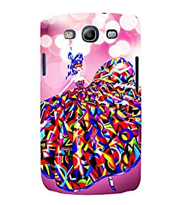 Lovely Girl 3D Hard Polycarbonate Designer Back Case Cover for Samsung Galaxy S3 Neo :: Samsung Galaxy S3 Neo i9300i