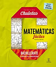 Matemáticas fáciles para bachillerato par Francisco Sánchez