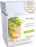 Detox Tee Diät & Entschlackung & Detox-Kur + 28-Tage 100g + Entgiftungstee / Fitness Tee : Regt Stoffwechsel und Fettverbrennung an und hilft beim Entgiften, Abnehmen und Entschlacken. + GRATIS Hörbuch Download
