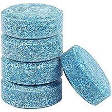 AOLVO - 5 Pastillas de Limpieza effervescentes para limpiaparabrisas de Coche/Limpiador de Cristal,