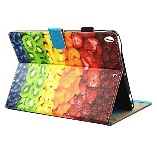 iPad IPad pro 10.5 Custodia per IPAD iPad pro 10.5 inch, inShang Smart Cover case in pelle PU, supporto per tenere LiPad sollevato, magnetico per sleep e standby fruit platter