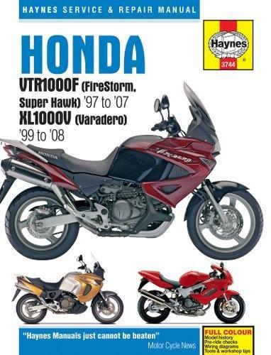 Honda VTR1000F (Firestorm, Superhawk) & Xl1000V (V: 1997 to 2008 (Haynes Service & Repair Manual)