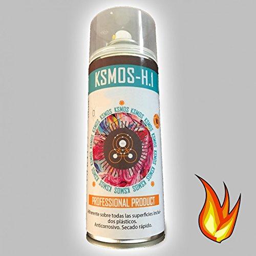 WrapWorkers Spray de Pintura anticalórica para Coche y Moto Plata (Brillo)