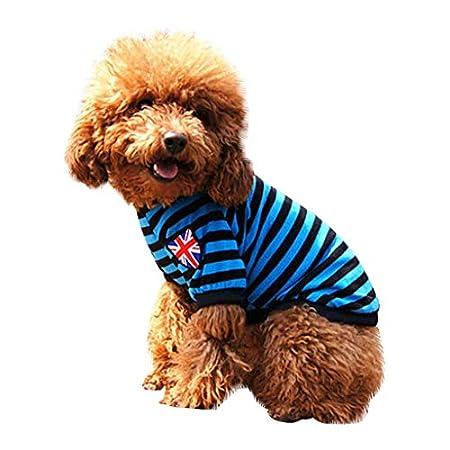 Yowablo Haustier Hund Winter Weihnachten Print Kleidung Haustier Hund Langarm Top