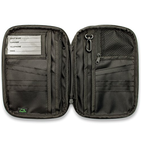CampTeck Portefeuille Passeport Blocage RFID Organiseur...