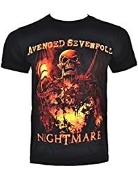 Avenged Sevenfold Inner Rage Men's Band T-Shirt –