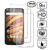 Guran [3 Pièces] Glass Protector pour Motorola Moto X Force Smartphone Screen Verre Trempé Protecteur d'écran Résistant aux éraflures