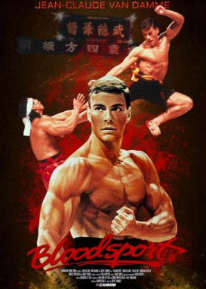 BLOODSPORT - Jean Claude Van Damme - US Imported Movie Wall Poster Print - 30CM X 43CM Brand New -