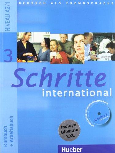 SCHRITTE INTERNATIONAL 3 KB+AB+CD+XXL (Schritte Inter ESP)