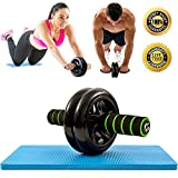 Best Ab Exercises - Dual Ab Roller Exercise Wheel & Thick Knee Review