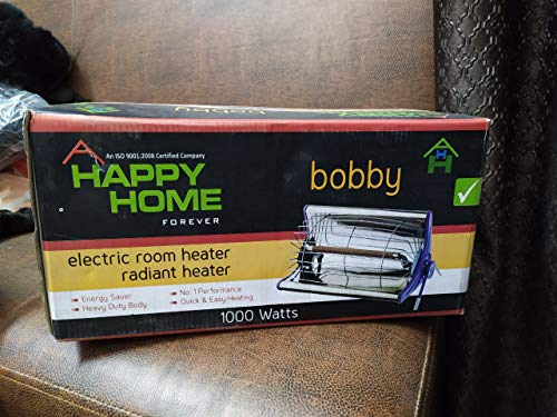 Varshine Happy Home Laurels SINGLE Rod Type Heater || Room Heater || 1 Season Warranty || With ISI : IS : 302-2-30 || Model -BOBBY ||A-23
