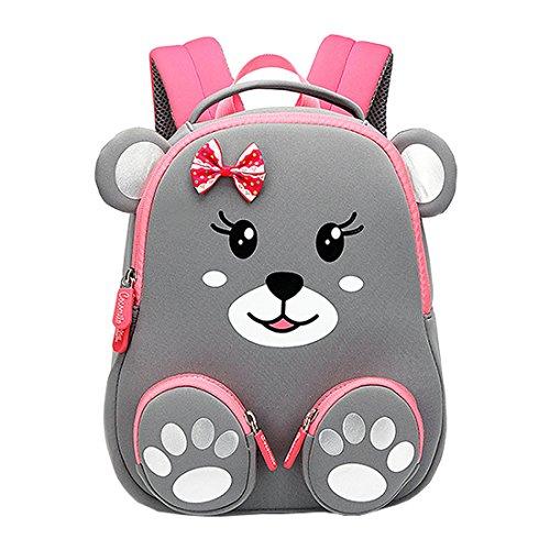 Cool&D Baby Rucksack Kindergarten Rucksack Cartoon Muster Schultasche Anti-verloren Rucksack für Jungen und Mädchen 1-6 Jahre(25 * 11 * 30cm)
