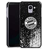 DeinDesign Samsung Galaxy J6 2018 Hülle Case Handyhülle Sprayart FC Bayern München FCB
