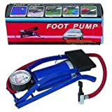 #4: Swabs™ Foot Pump | Multipurpose Air Pump with Air Gauge Use for Football/Motorcycle /Bicycle/Car Inflator/Air Mattress