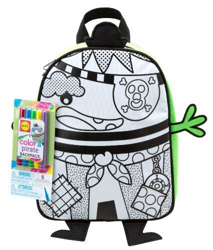 Alex Toys Craft Colour a Backpack Pirate