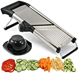 Best Vegetable Cutters - Adjustable Mandoline Slicer by Chef's INSPIRATIONS. Best For Review