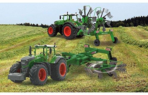 RC Auto kaufen Traktor Bild: RC Traktor FENDT 1050 SCHWADER-Anhänger XL Länge 70cm