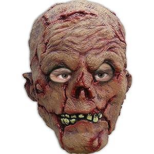 Partychimp 54-27240 - Máscara para Disfraz de Zombi (Talla única), Multicolor