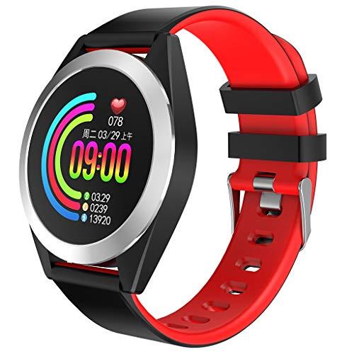 VBWER rologio intelligente Bluetooth-Orologio sportivo Supporto Tracker di Pedometro Con Step Calorie Counter/Monitor di Sonno Di Salute per IOS Android Telefono