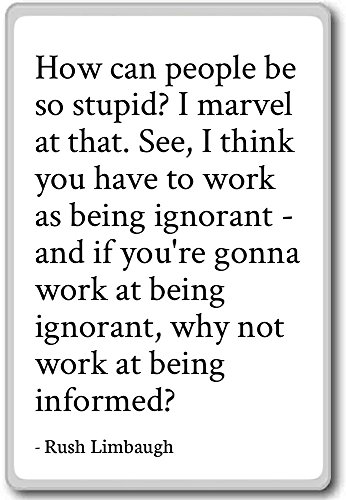 Cómo personas puede ser tan estúpida? I Marvel que...-Rush