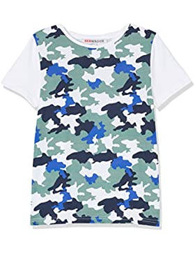RED WAGON Jungen T-Shirt mit Camouflage-Muster