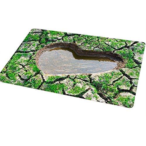 Zerbino fare attenzione alla trappola da LanChuon, 40x60cm Tappeto ingresso, tappetini decorativi, Zerbino divertenti